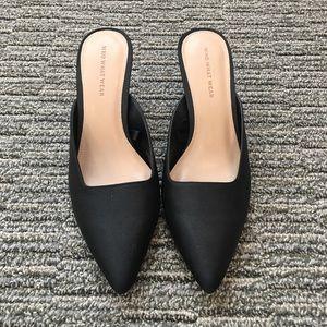 Who What Wear - Black Kitten Heels